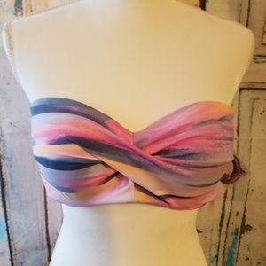 NWT VICTORIA'S SECRET strap strapless bikini top